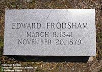 FRODSHAM, EDWARD - Lake County, Colorado | EDWARD FRODSHAM - Colorado Gravestone Photos