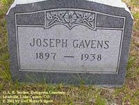 GAVENS, JOSEPH - Lake County, Colorado | JOSEPH GAVENS - Colorado Gravestone Photos