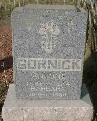 GORNICK, ANTONE - Lake County, Colorado | ANTONE GORNICK - Colorado Gravestone Photos