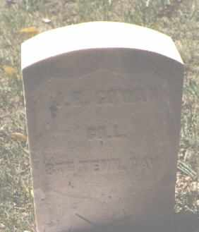 GOWAN, J. H. - Lake County, Colorado | J. H. GOWAN - Colorado Gravestone Photos