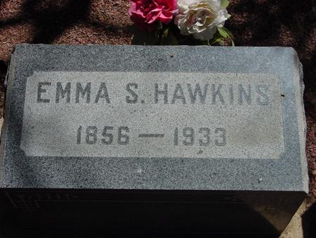 SWANSON HAWKINS, EMMA - Lake County, Colorado | EMMA SWANSON HAWKINS - Colorado Gravestone Photos