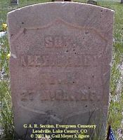 HENRY, ALEX - Lake County, Colorado | ALEX HENRY - Colorado Gravestone Photos