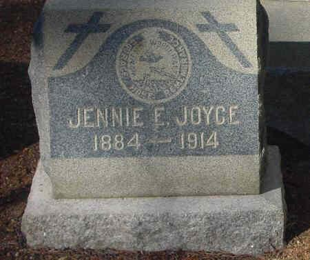 JOYCE, JENNIE E - Lake County, Colorado | JENNIE E JOYCE - Colorado Gravestone Photos