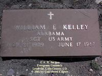 KELLEY, WILLIAM E. - Lake County, Colorado | WILLIAM E. KELLEY - Colorado Gravestone Photos