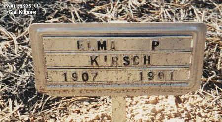KIRSCH, ELMA P. - Lake County, Colorado | ELMA P. KIRSCH - Colorado Gravestone Photos