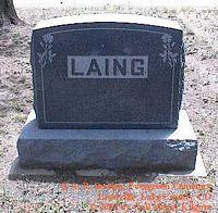 LAING, MONUMENT - Lake County, Colorado | MONUMENT LAING - Colorado Gravestone Photos