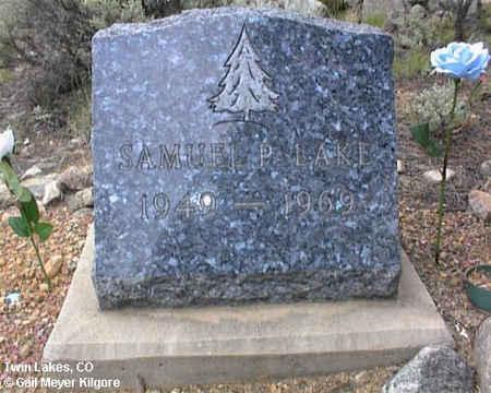 LAKE, SAMUEL P. - Lake County, Colorado | SAMUEL P. LAKE - Colorado Gravestone Photos