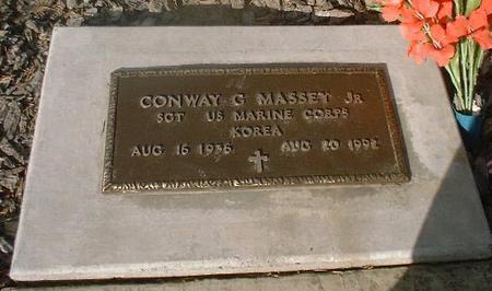 MASSEY, JR., CONWAY G. - Lake County, Colorado | CONWAY G. MASSEY, JR. - Colorado Gravestone Photos