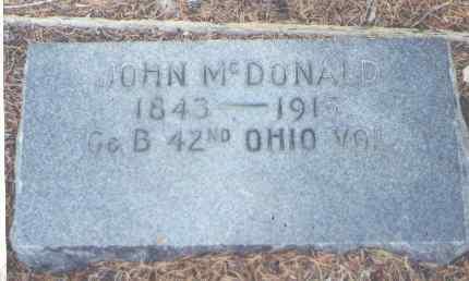 MCDONALD, JOHN - Lake County, Colorado | JOHN MCDONALD - Colorado Gravestone Photos