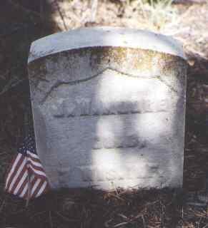 MOORE, J. W. - Lake County, Colorado | J. W. MOORE - Colorado Gravestone Photos