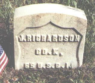 RICHARDSON, J. - Lake County, Colorado | J. RICHARDSON - Colorado Gravestone Photos