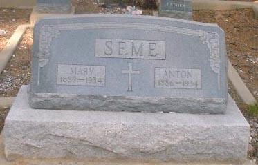 SEME, MARY - Lake County, Colorado | MARY SEME - Colorado Gravestone Photos