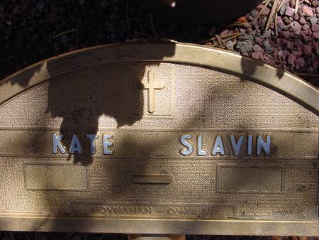 SLAVIN, KATIE M - Lake County, Colorado | KATIE M SLAVIN - Colorado Gravestone Photos