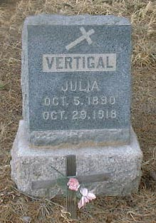 VERTIGAL, JULIA - Lake County, Colorado | JULIA VERTIGAL - Colorado Gravestone Photos