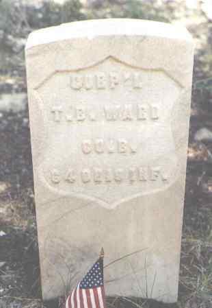 WARD, T. B. - Lake County, Colorado | T. B. WARD - Colorado Gravestone Photos