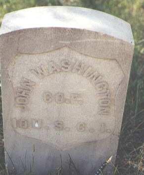 WASHINGTON, JOHN - Lake County, Colorado   JOHN WASHINGTON - Colorado Gravestone Photos