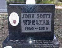 WEBSTER, JOHN SCOTT - Lake County, Colorado | JOHN SCOTT WEBSTER - Colorado Gravestone Photos