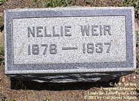 WEIR, NELLIE - Lake County, Colorado | NELLIE WEIR - Colorado Gravestone Photos