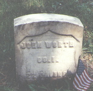 WORTH, JOHN - Lake County, Colorado | JOHN WORTH - Colorado Gravestone Photos