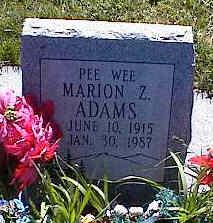 ADAMS, MARION Z. - La Plata County, Colorado | MARION Z. ADAMS - Colorado Gravestone Photos