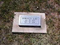 ALBO, DOMINICK - La Plata County, Colorado | DOMINICK ALBO - Colorado Gravestone Photos