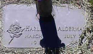 ALDERMAN, HARLESS - La Plata County, Colorado | HARLESS ALDERMAN - Colorado Gravestone Photos