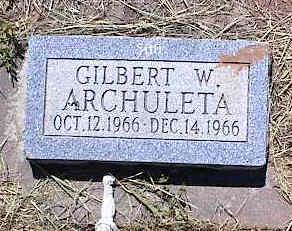 ARCHULETA, GILBERT W. - La Plata County, Colorado | GILBERT W. ARCHULETA - Colorado Gravestone Photos