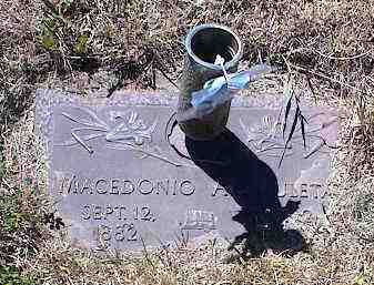ARCHULETA, MACEDONIA - La Plata County, Colorado | MACEDONIA ARCHULETA - Colorado Gravestone Photos