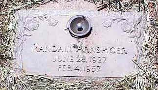 ARNSPIGER, RANDALL - La Plata County, Colorado | RANDALL ARNSPIGER - Colorado Gravestone Photos