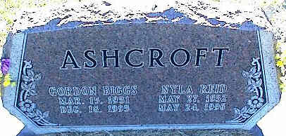 ASHCROFT, NYLA - La Plata County, Colorado | NYLA ASHCROFT - Colorado Gravestone Photos