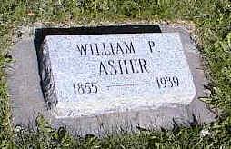ASHER, WILLIAM P. - La Plata County, Colorado | WILLIAM P. ASHER - Colorado Gravestone Photos