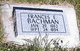 BACHMAN, FRANCES E. - La Plata County, Colorado | FRANCES E. BACHMAN - Colorado Gravestone Photos