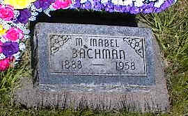BACHMAN, M. MABEL - La Plata County, Colorado | M. MABEL BACHMAN - Colorado Gravestone Photos