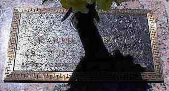 BACUS, RANDEL E. - La Plata County, Colorado   RANDEL E. BACUS - Colorado Gravestone Photos