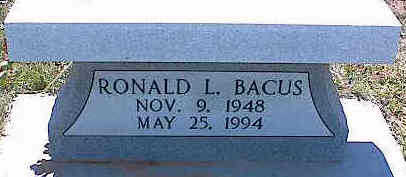 BACUS, RONALD L. - La Plata County, Colorado | RONALD L. BACUS - Colorado Gravestone Photos