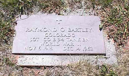 BARTLEY, RAYMOND O. - La Plata County, Colorado | RAYMOND O. BARTLEY - Colorado Gravestone Photos