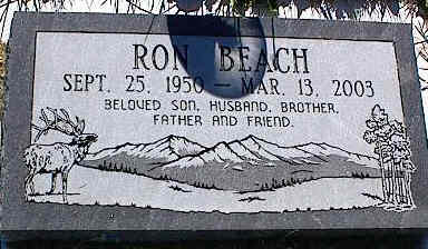 BEACH, RON - La Plata County, Colorado   RON BEACH - Colorado Gravestone Photos