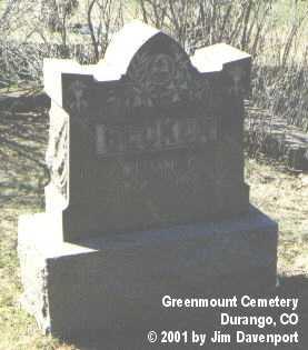 BECKER, WILLIAM C. - La Plata County, Colorado | WILLIAM C. BECKER - Colorado Gravestone Photos