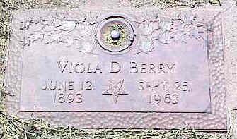 BERRY, VIOLA D. - La Plata County, Colorado | VIOLA D. BERRY - Colorado Gravestone Photos