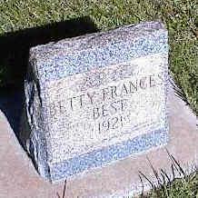 BEST, BETTY FRANCES - La Plata County, Colorado | BETTY FRANCES BEST - Colorado Gravestone Photos