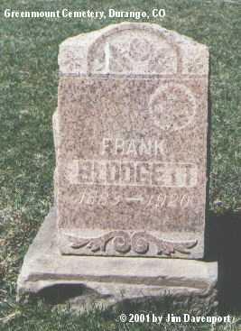 BLODGETT, FRANK - La Plata County, Colorado | FRANK BLODGETT - Colorado Gravestone Photos