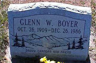 BOYER, GLENN W. - La Plata County, Colorado | GLENN W. BOYER - Colorado Gravestone Photos