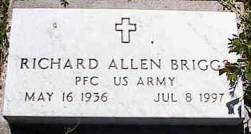 BRIGGS, RICHARD ALLEN - La Plata County, Colorado | RICHARD ALLEN BRIGGS - Colorado Gravestone Photos