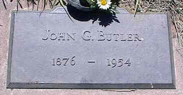 BUTLER, JOHN G. - La Plata County, Colorado | JOHN G. BUTLER - Colorado Gravestone Photos