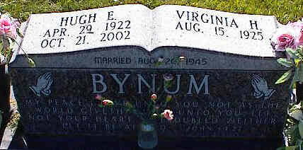 BYNUM, VIRGINIA H. - La Plata County, Colorado | VIRGINIA H. BYNUM - Colorado Gravestone Photos