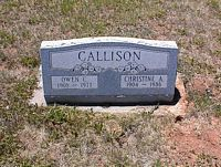 CALLISON, OWEN C. - La Plata County, Colorado | OWEN C. CALLISON - Colorado Gravestone Photos