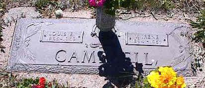 CAMPBELL, V. IRENE - La Plata County, Colorado | V. IRENE CAMPBELL - Colorado Gravestone Photos
