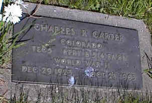 CARTER, CHARLES R. - La Plata County, Colorado | CHARLES R. CARTER - Colorado Gravestone Photos