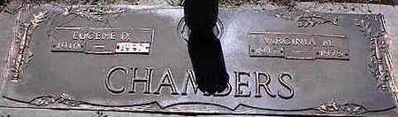 CHAMBERS, EUGENE D. - La Plata County, Colorado | EUGENE D. CHAMBERS - Colorado Gravestone Photos