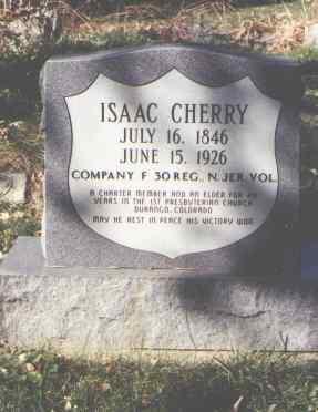CHERRY, ISAAC - La Plata County, Colorado | ISAAC CHERRY - Colorado Gravestone Photos